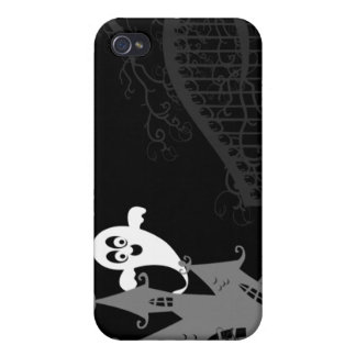 Haunted House Halloween iPhone 4 case