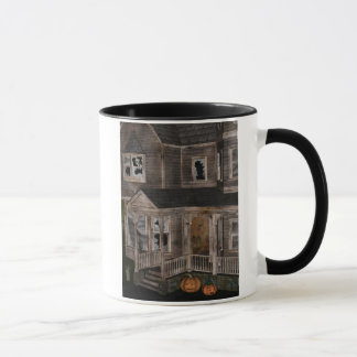 Haunted House Halloween Mug
