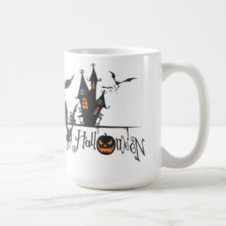 Haunted House  Halloween Coffee Mug