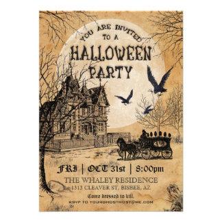 Haunted House Halloween Party Invitation