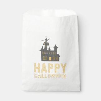 Haunted House Halloween Treat Bag Favour Bags