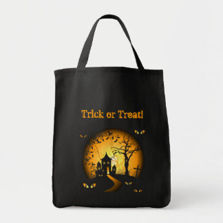Haunted House = Halloween Trick or Treat bag