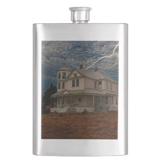 HAUNTED HOUSE HIP FLASK