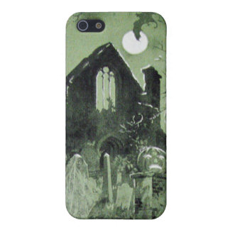 Haunted House Jack O' Lantern Ghost Moon iPhone 5/5S Cases