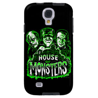 Haunted House of Monsters Galaxy S4 Case