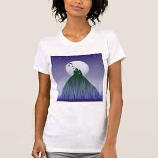 Haunted House On A Hill Womens T-Shirt