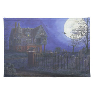 "Haunted House Placemats 20"" x 14"""
