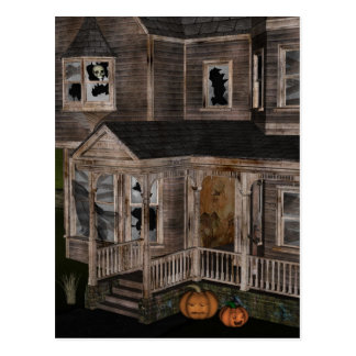 Haunted House Post Card