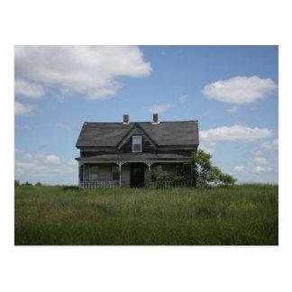 Haunted House Postcard