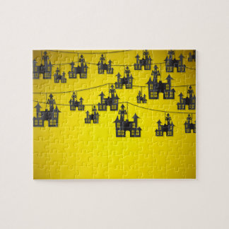 Haunted house string puzzles
