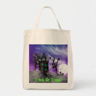 Haunted House Trick Or Treat Bag