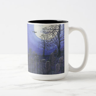 Haunted House Two Tone Mug