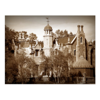 Haunted Mansion Postcard