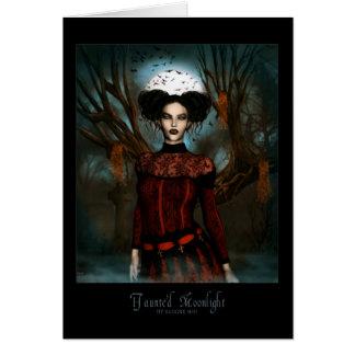 Haunted Moonlight Card