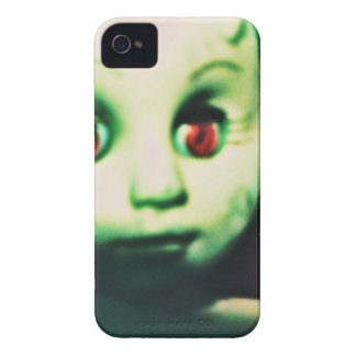 haunted red eyed doll products Case-Mate iPhone 4 case