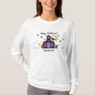 Haunted Schoolhouse Teacher Halloween Shirt
