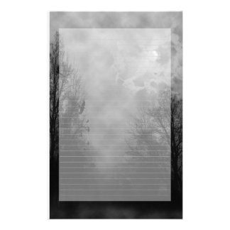 Haunted Sky Note Paper Lined