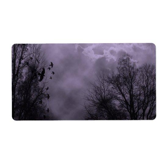 Haunted Sky Purple Mist