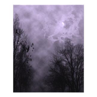 Haunted Sky Purple Mist 11.5 Cm X 14 Cm Flyer
