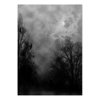 Haunted Sky with Ravens Business Card Pack Of Chubby Business Cards
