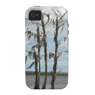 Haunted Swamp Tree iPhone 4 Cover