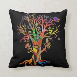 Haunted Tree Throw Cushion