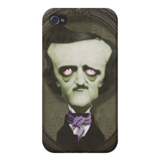 Haunted Zombie Edgar Alan Poe IPhone Case iPhone 4 Case