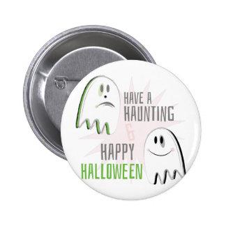 Haunting Halloween 6 Cm Round Badge