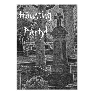 Haunting Party Announcement