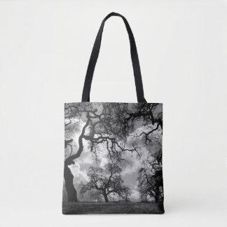 Haunting Tree Photo Tote Bag
