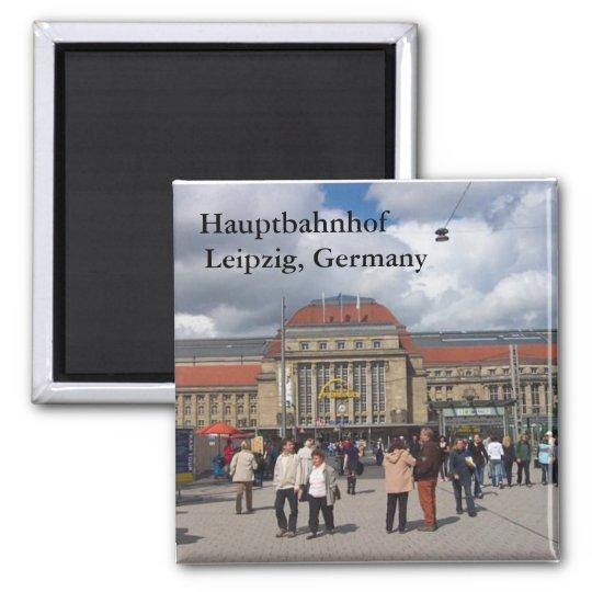 Hauptbahnhof, Leipzig, Germany Magnet
