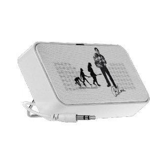 Haut-Parleur/Doodle - BLOU iPod Speaker