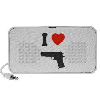 Haut-parleur Doodle i love gun Speaker