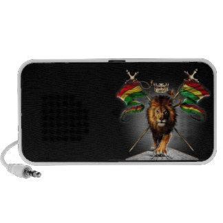 Haut-parleur Doodle par OrigAudio™ Lion Rastafari iPod Speakers