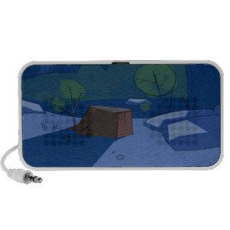 "haut-parleurs ""90's animation"" notebook speaker"