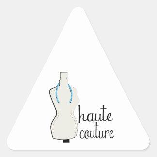 Haute Couture Triangle Stickers