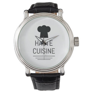 Haute Cuisine French Chef Cooking School Watches
