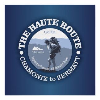 Haute Route Poster