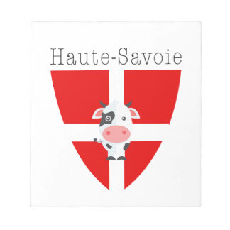 Haute-Savoie Cow Notepad