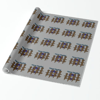 Hava Nagila Dachsunds Wrapping Paper