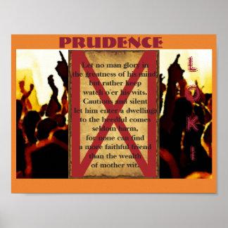 Havamal Prudence Poster