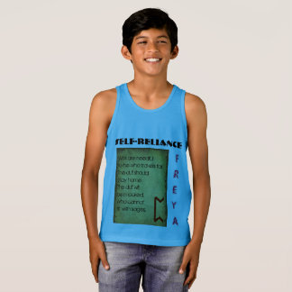 Havamal Self-Reliance Singlet