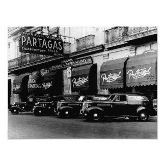 Havana 1951 Retro Cigar Factory Photo Print