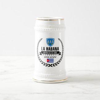 Havana Beer Stein