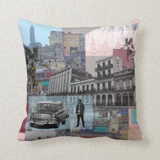 Havana Cuba Cushion Pillow by Ambush Designs