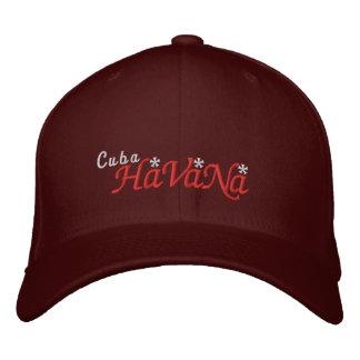Havana - Cuba Embroidered Hat