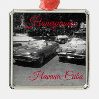 Havana Cuba Honeymoon Ornament