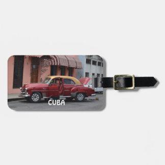 Havana Cuba Luggage Tag