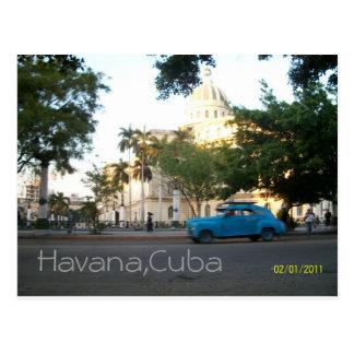 Havana,Cuba Postcard