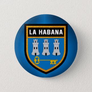Havana Flag 6 Cm Round Badge
